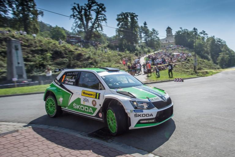Barum Czech Rally Zlin 2015