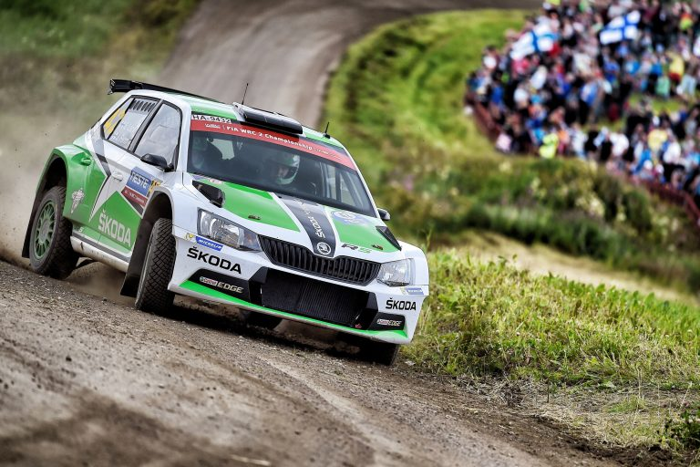 Fabia R5, Rally Finland