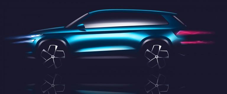 ŠKODA VisionS: SUV Design Study Celebrates Premiere in Geneva