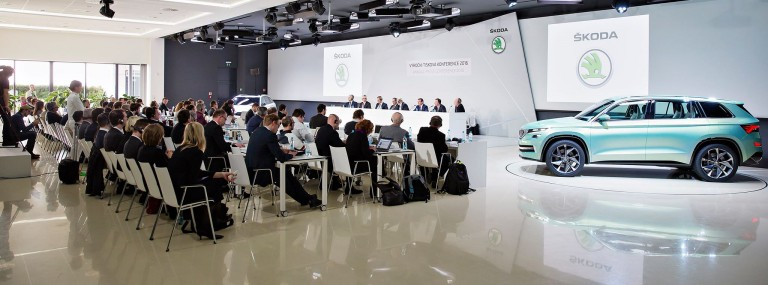 ŠKODA Annual Press Conference 2016