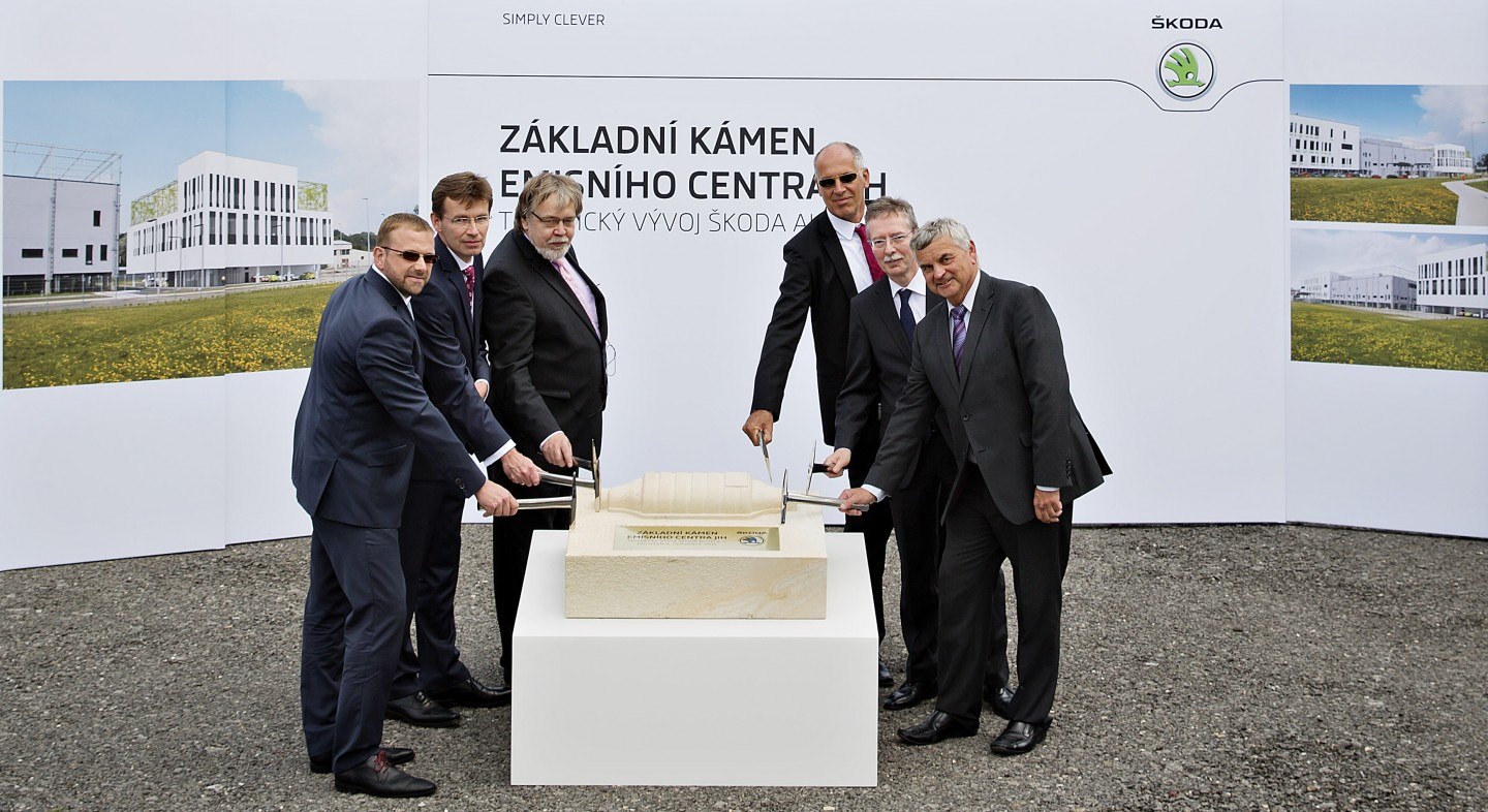 The new emissions centre is an important investment for ŠKODA. (Photo: ŠKODA AUTO a.s.)