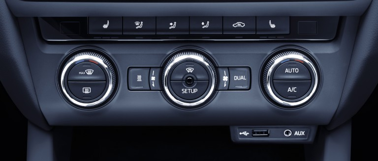 ŠKODA auxiliary heating systems