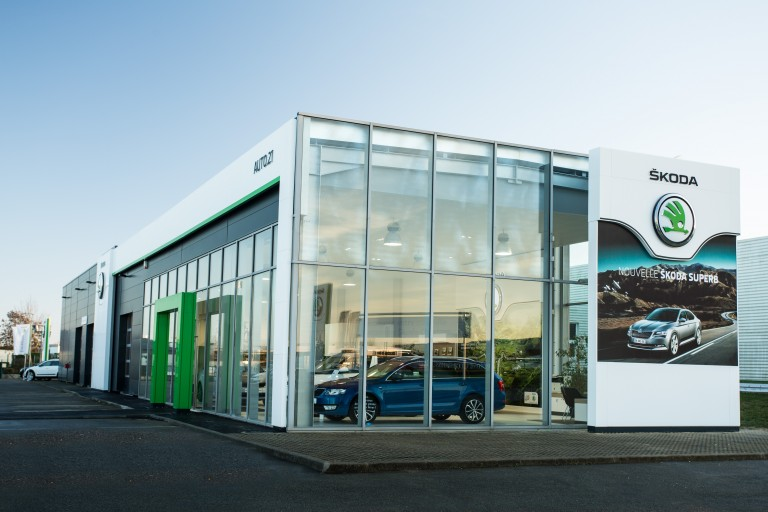 1500 ŠKODA Dealerships Now Feature New Corporate Design