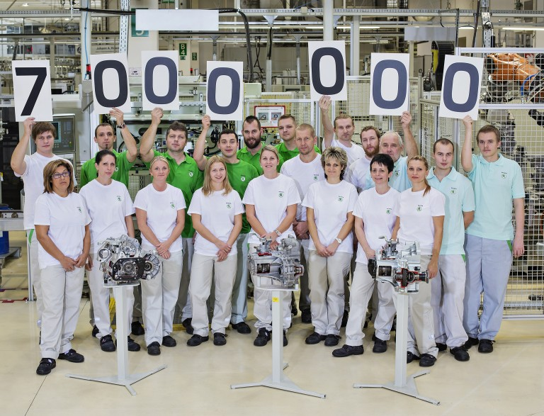 Seven Million Manual Gearboxes Produced in Mladá Boleslav