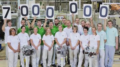 ŠKODA AUTO v Mladé Boleslavi vyrobila 7 milionů manuálních převodovek