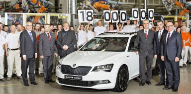 Milestone: ŠKODA Produces 18 Millionth Car