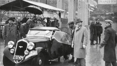 ŠKODA Popular: Automotive Icon Celebrated First Rally Success 80 Years Ago