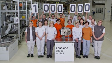 ŠKODA Vrchlabí Plant Produces One Million DQ 200 Gearboxes