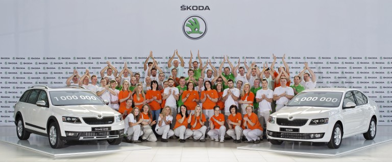 Milestone: One million third-generation ŠKODA Octavias produced