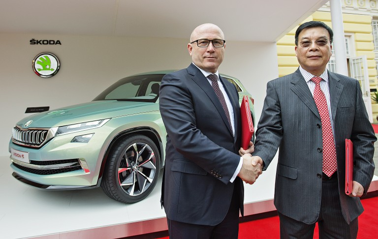 ŠKODA Strengthens Presence in China (4)