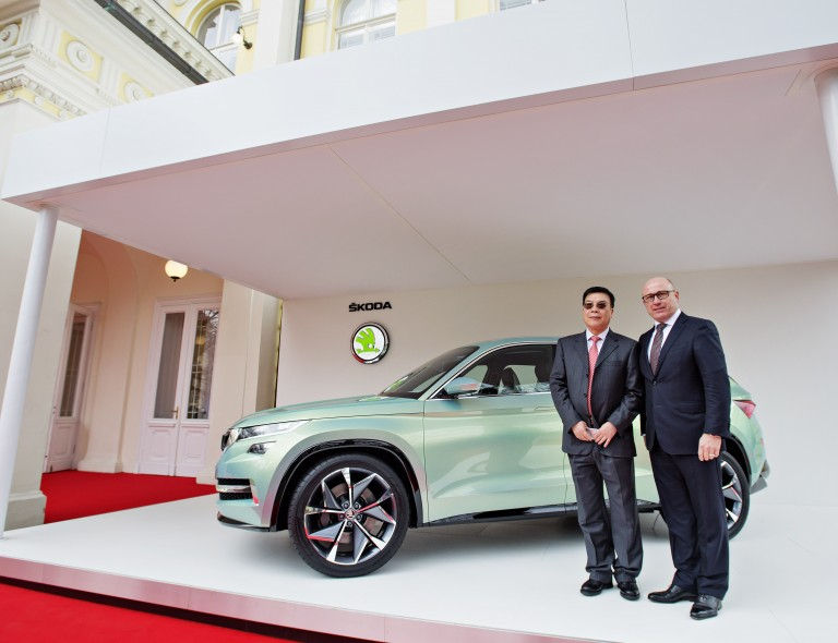 ŠKODA Strengthens Presence in China (5)