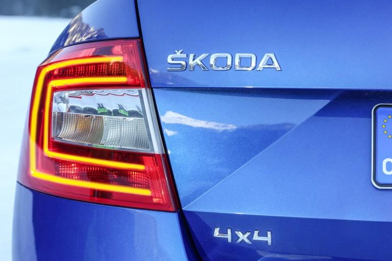 ŠKODA Octavia RS 4×4