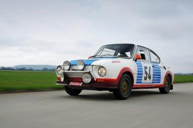 Sedm vozů ŠKODA na soutěži Sachsen Classic