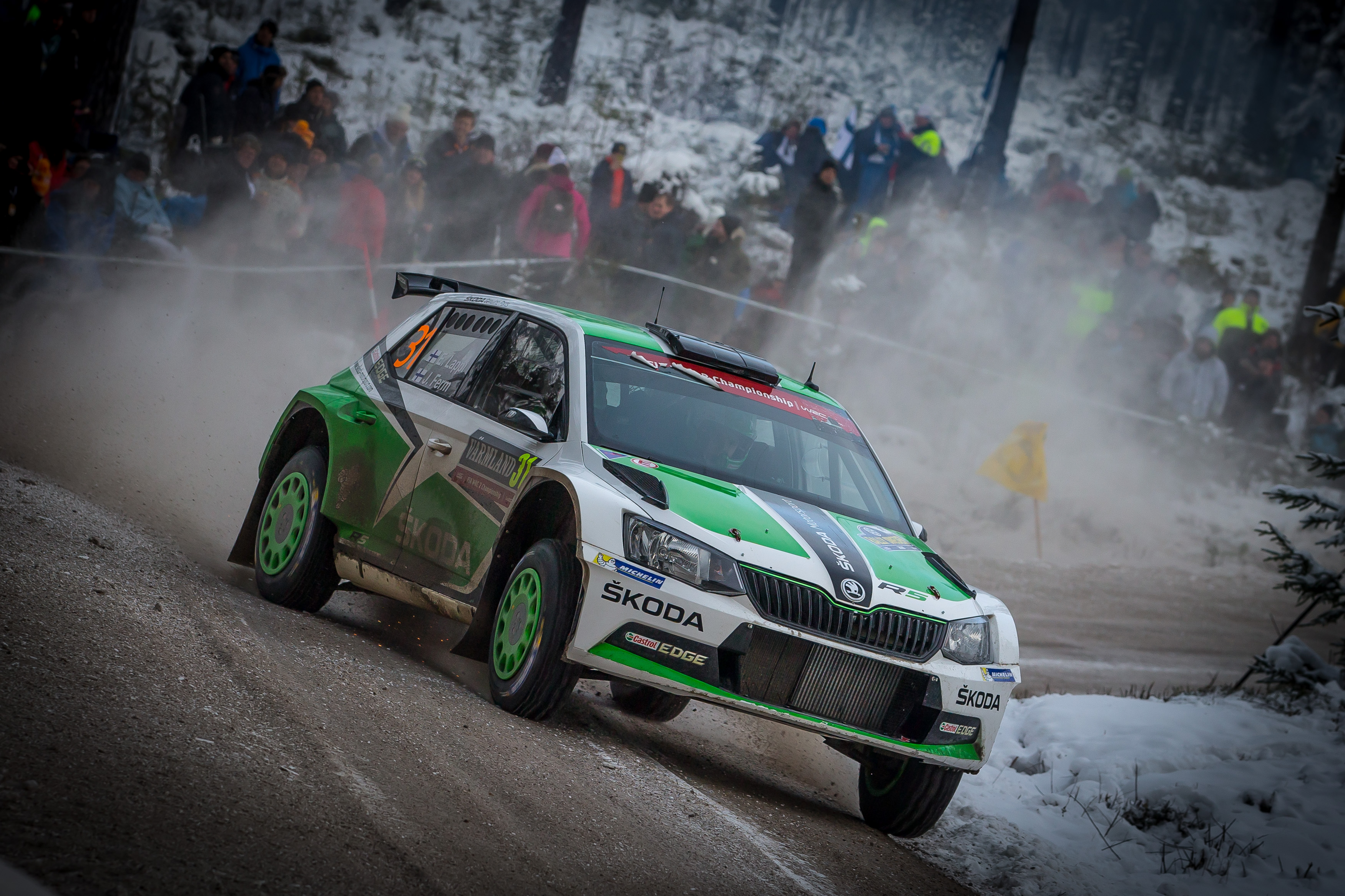 Rally Sweden Tidemand On Course To Finish On The Podium For ŠKODA - Rally sweden map 2016