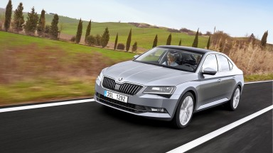 ŠKODA Superb among Finalists for Renowned Car Prize