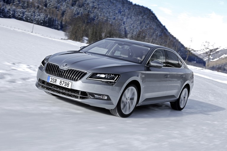ŠKODA Superb 4×4