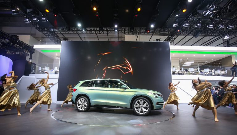 Auto China 2016 v Pekingu: ŠKODA v Číně zahajuje SUV-ofenzívu