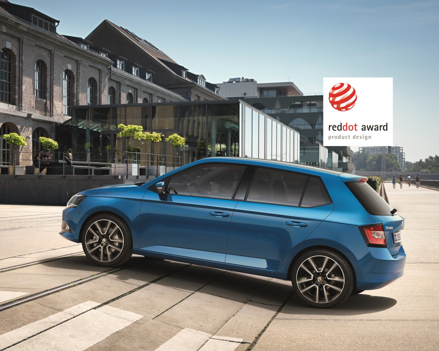 ŠKODA Fabia: The all-new small car has received the converted 'Red Dot Award' for its outstanding product design. (Photo: ŠKODA AUTO a.s.)