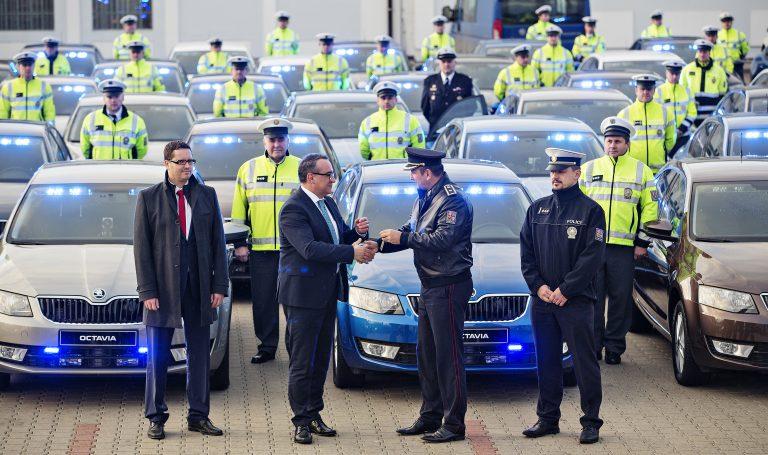 Vozy ŠKODA s inovativní měřicí technikou pro Policii České republiky
