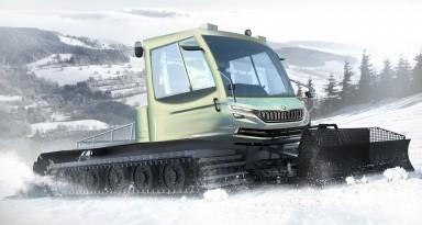 Entering into a new market segment: market launch of the ŠKODA Snowman