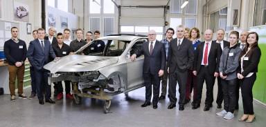 One-off Compact Coupé: ŠKODA Apprentices Build Dream Car