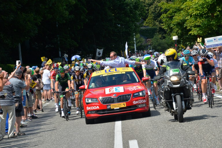 ŠKODA at the Tour de France