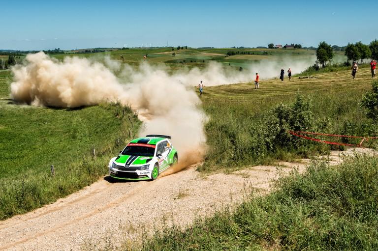WRC Rally Poland