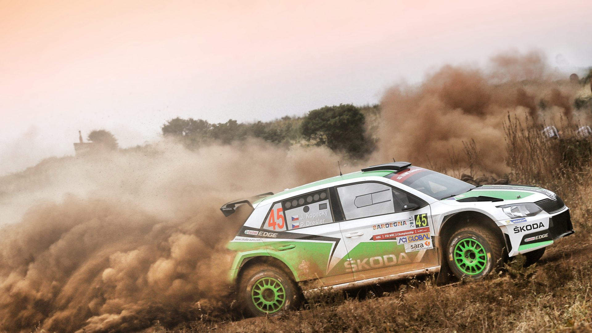 Around the world in 14 rallies