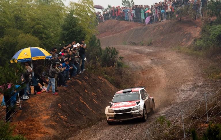 WRC Rally China