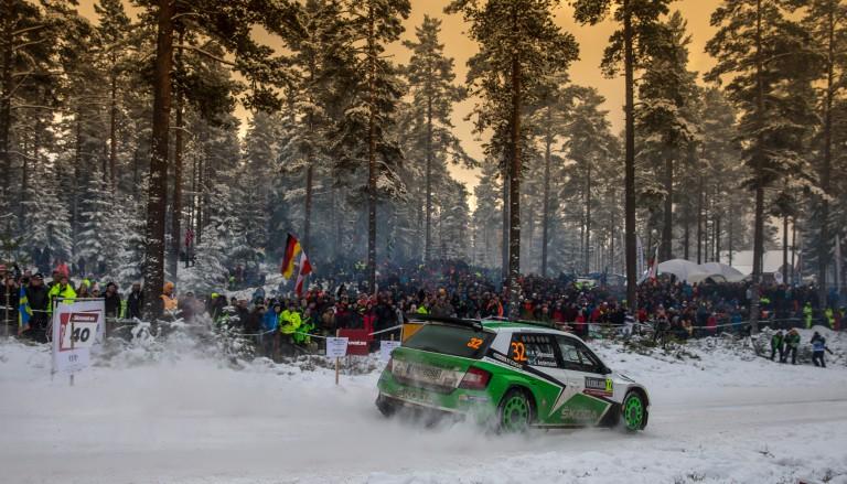 Rally Švédsko 2016