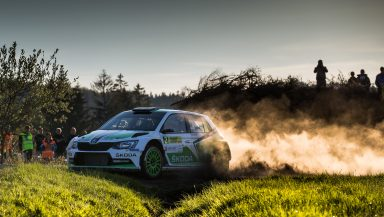 One-two: ŠKODA Motorsport enjoys perfect start to the season in the Czech Rally Championship