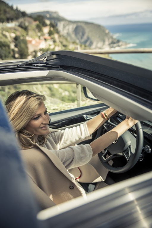 Tereza Maxová takes to Monaco's streets on foot. But for any resident on the coast, a car is a must.