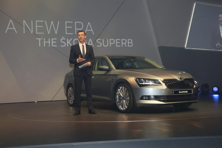 The ŠKODA Superb - world premiere with 800 guests from 35 countries