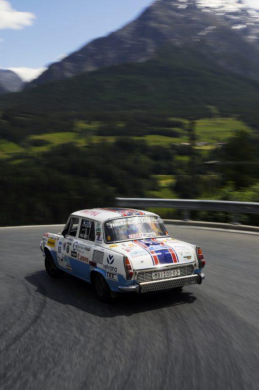 ŠKODA na Alpské rally 2015