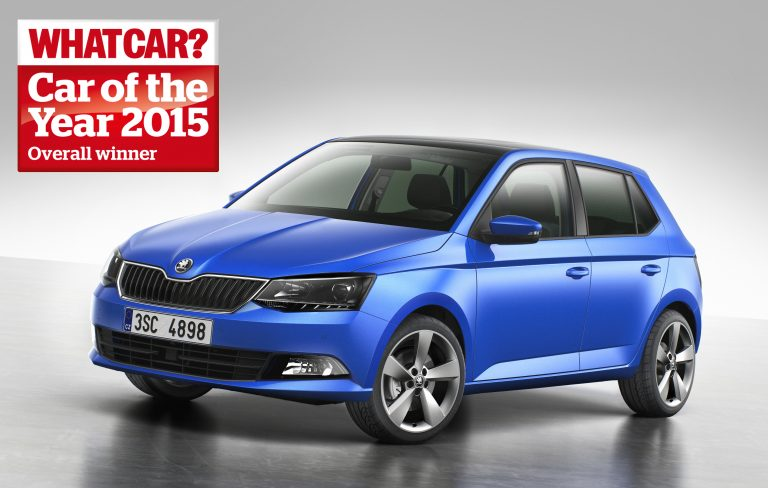 ŠKODA Fabia - What Car? Car of the Year 2015