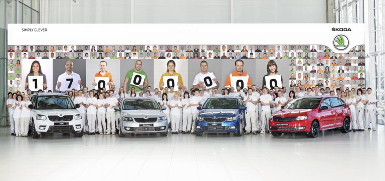 ŠKODA produces 17,000,000th vehicle