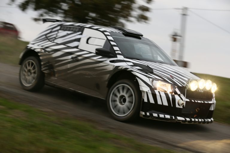 ŠKODA Fabia R 5: Development of the new rally car on schedule
