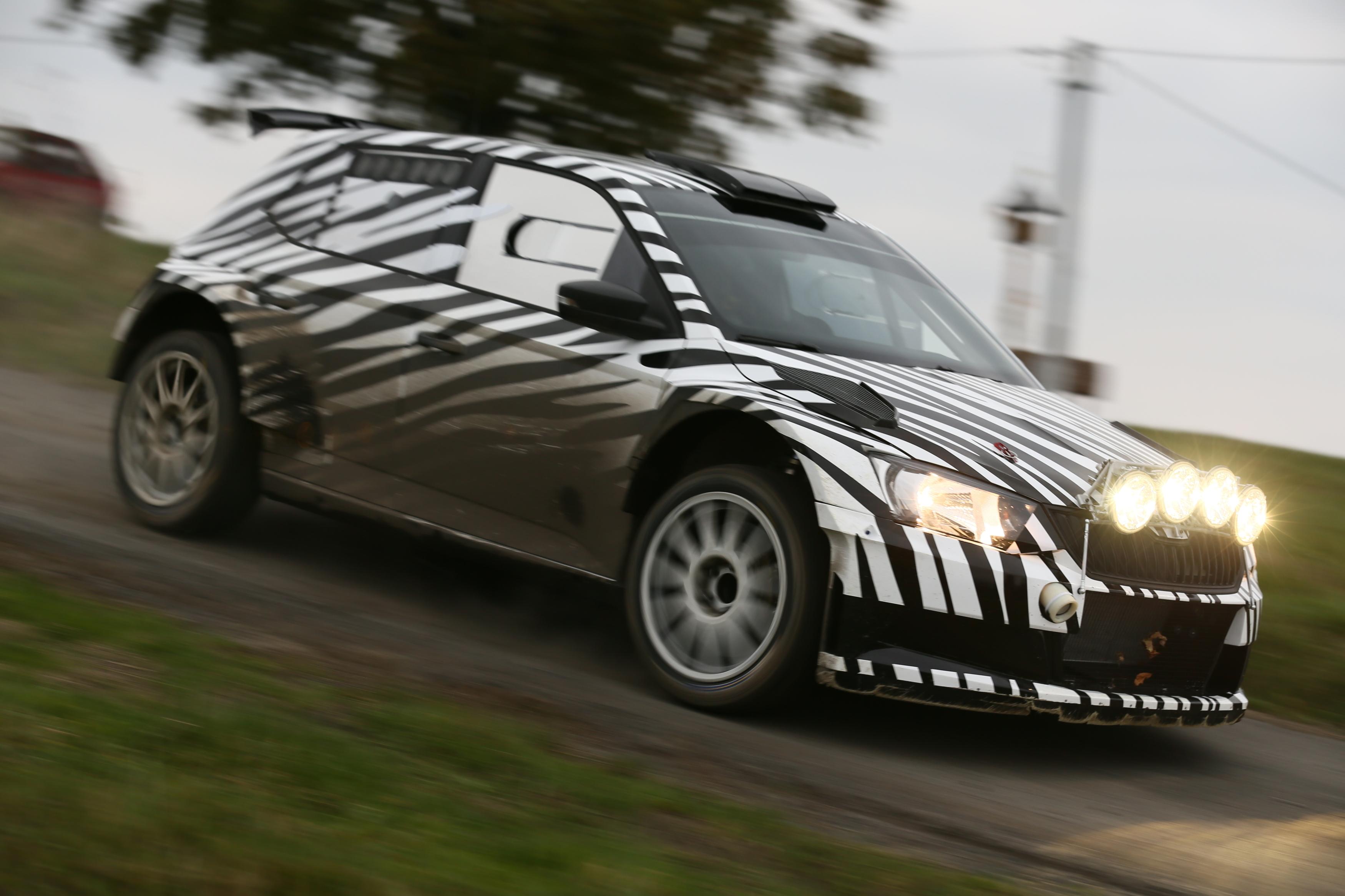 koda fabia r 5 development of the new rally car on schedule koda storyboard. Black Bedroom Furniture Sets. Home Design Ideas