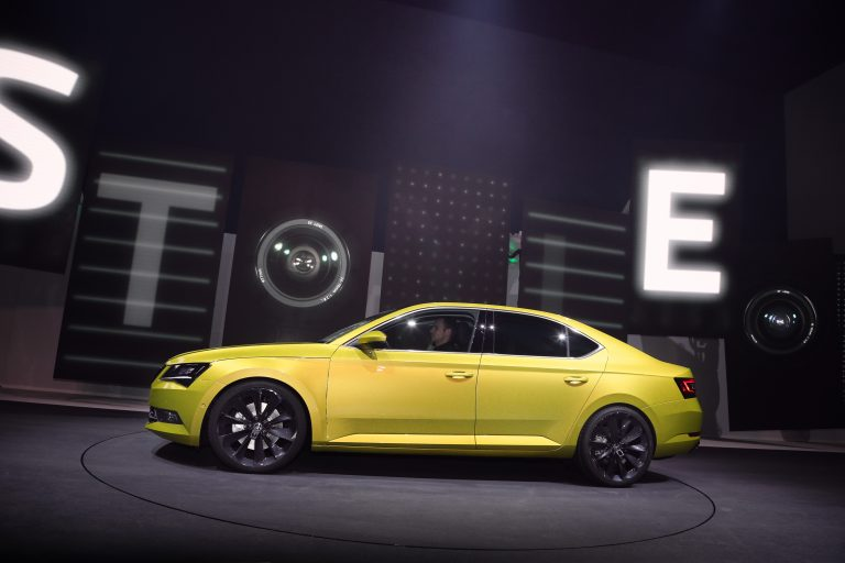 ŠKODA at 2015 Volkswagen Group Night in Geneva