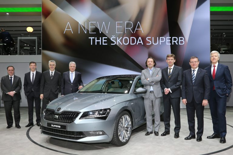 ŠKODA at the Geneva Motor Show 2015