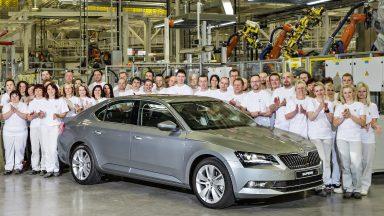 Nová éra: Zahájení výroby nové generace modelu ŠKODA Superb