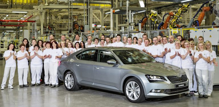 Production of the new ŠKODA Superb begins