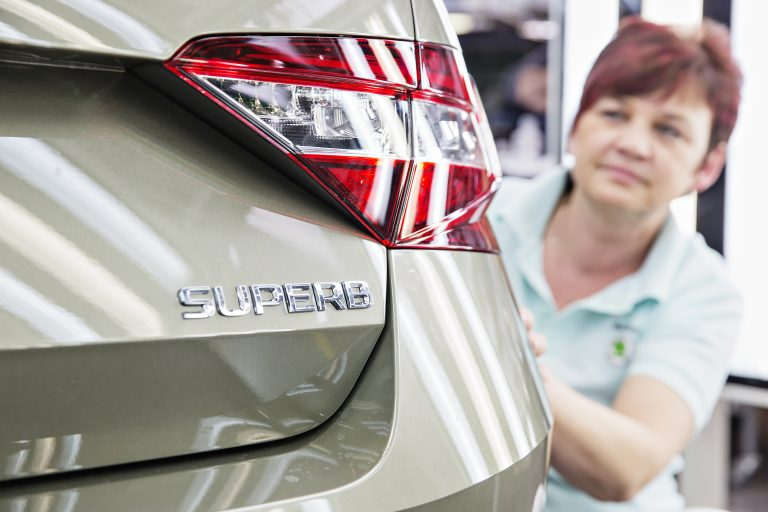 Zahájení výroby nové generace modelu ŠKODA Superb