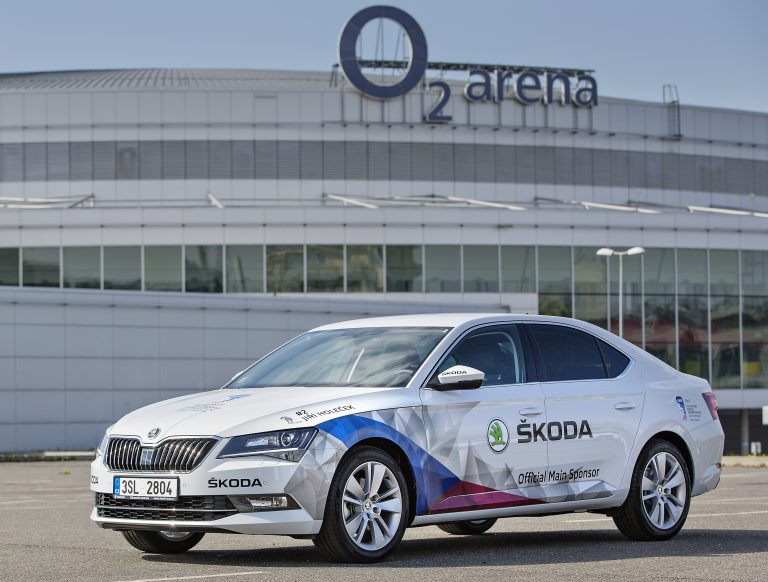 ŠKODA is official main sponsor of IIHF Ice Hockey in Czech Republic