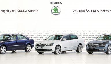 ŠKODA produces 750,000th ŠKODA Superb