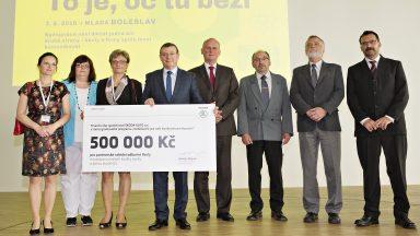 ŠKODA hostila konferenci k technickému školství a středním školám věnovala 500 000 Kč