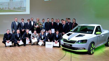 ŠKODA AUTO Střední odborné učiliště strojírenské má 209 nových absolventů
