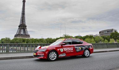 Strong Partner: ŠKODA twelfth time sponsor of Tour de France
