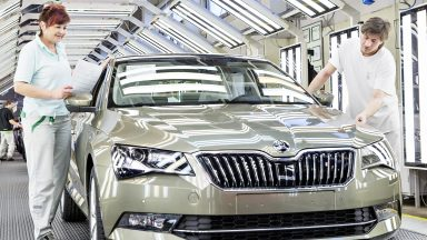 ŠKODA Production in Full Swing after Factory Holiday