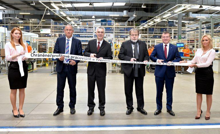 ŠKODA AUTO otevírá nové pracoviště pro zaměstnance se zdravotním a sociálním znevýhodněním
